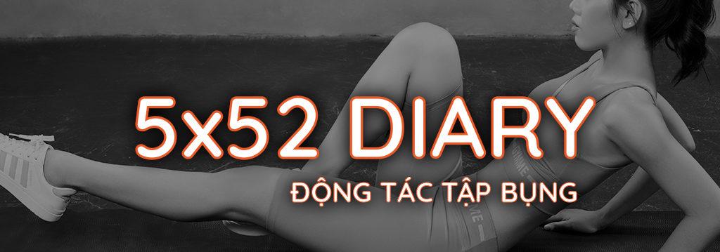 Nhật ký 5x52 Gymme - Động Tác Tập Bụng