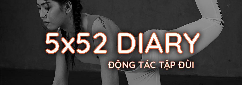 Nhật ký 5x52 Gymme - Động Tác Tập Đùi