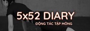Nhật ký 5x52 Gymme - Động Tác Tập Mông