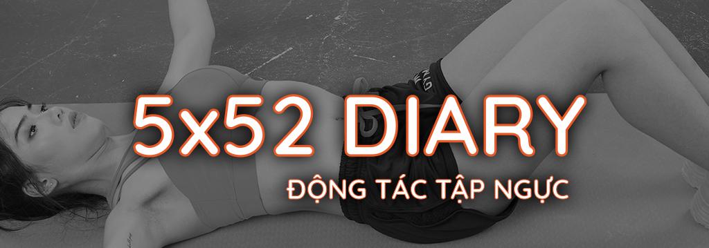 Nhật ký 5x52 Gymme - Động Tác Tập Ngực