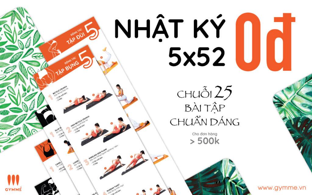 Quà tặng 5x52 - Nhật ký 5x52