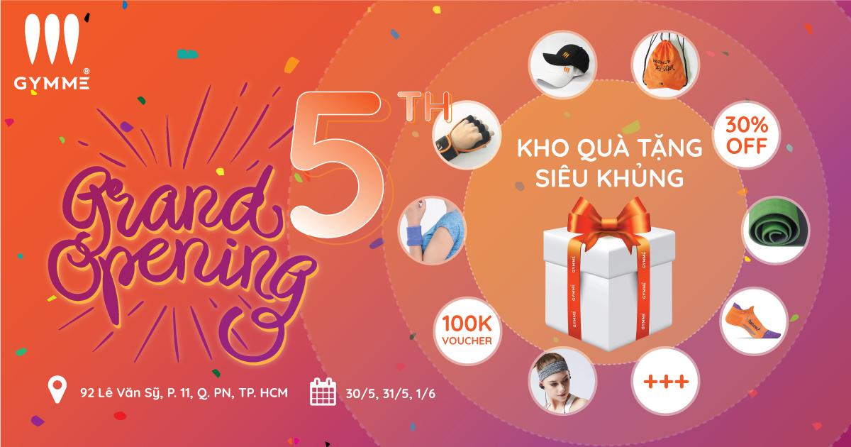 Khai Trương Gymme 5 - 92 Lê Văn Sỹ