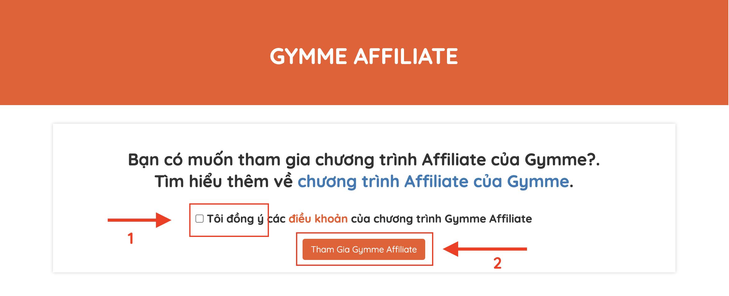 Gymme - Affiliate